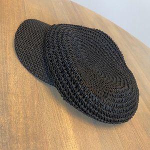 Rattan fashion hat ~ NWOT